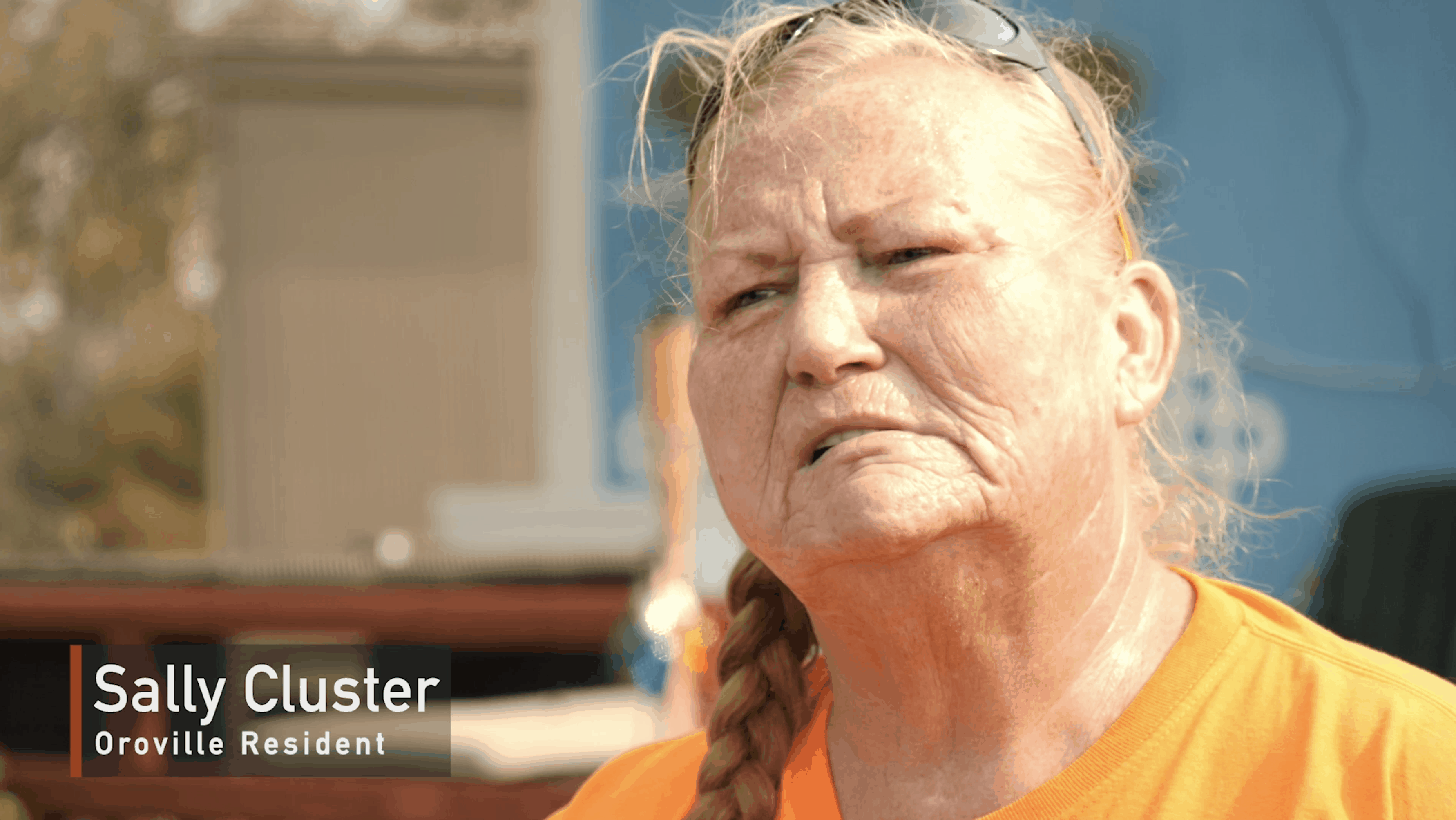 Sally Cluster, Oroville Resident from the 'Tiny Homes for Camp Fire Survivors' project